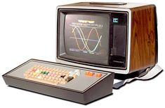 Compucolor II. c1978. Home computer used by our Cro-Magnon ancestors.