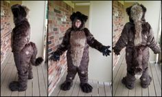 Image result for open face fur costumes