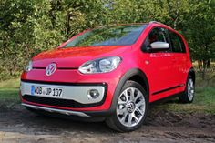 Volkswagen Cross up! in Rot