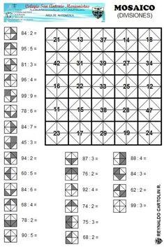 Mosaico - divisiones