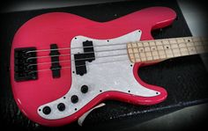 Translucent pink bass