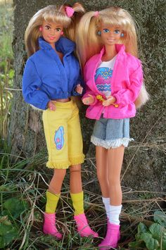 Teresa and Barbie Camp by illina86, via Flickr