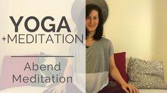 Video: Eine einfache Abendmeditation zum Entspannen und Runterkommen | jana-ciura.com