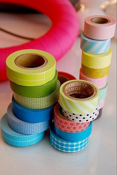 Make a Washi Tape Spring Egg Wreath! Plus a few other great washi tape projects!