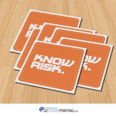 @ANZIIF 60x60mm #Matt #PaperStickers. For greater discount on #stickers, visit us here http://www.ozstickerprinting.com/ #AU #Sydney #stickerprinting #customstickers