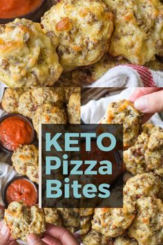 These Easy Keto Pizza Bites are loaded with Italian sausage and mozzarella! Perfect for keto meal prep and under 1 net carb per bite! appetizers that travel well Keto Pizza Bites Ketogenic Diet For Beginners, Ketogenic Recipes, Low Carb Recipes, Diet Recipes, Cooking Recipes, Healthy Recipes, Paleo Food, Slimfast Recipes, Sausage Recipes