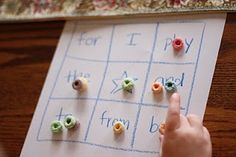 Sight-Word Bingo and 10 steps to teaching your child to read.