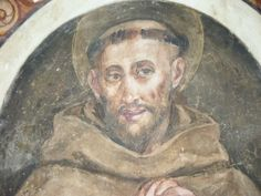 Fresco of St. Francis in St. Catherine Chapel