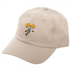 8098d4c6f0f This Item up for sale is The NEW Nickelodeon Hey Arnold! Traditional  Adjustable Cap Dad Hat Strapback