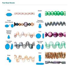 pearl bead shapes