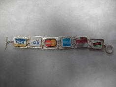 Credit Card bracelet    Please like, share :) http://www.family1st-financial.com/