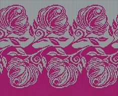 Одноклассники Circular Knitting Machine, Knitting Machine Patterns, Knitting Charts, Double Knitting, Cross Stitch Bird, Cross Stitch Flowers, Cross Stitch Designs, Cross Stitch Patterns, Filet Crochet Charts