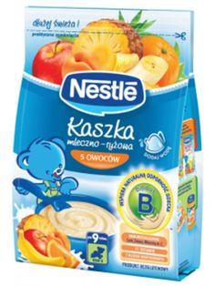 Kaszka mleczno- ryżowa 5 owoców po 9 miesiącu życia to pełnowartościowy posiłek, zawierający mleko modyfikowane, probiotyki Bifidus BL oraz Immunoskładniki, dostosowany do wymagań żywieniowych niemowląt i dzieci aż do 3 roku życia. Dodatek owoców nadaje Kaszce Nestle pyszny smak.
