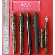 ASA Patriot 3-in-1 Filling Ebonite Fountain Pen - ASAPENS | India | Buy Online…