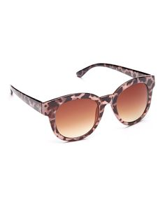 Another great find on #zulily! Tortoise Retro Sunglasses by Betsey Johnson #zulilyfinds