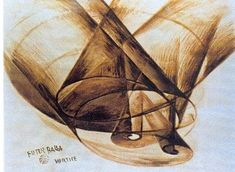 "Giacomo Balla: Vortice, 1914 From 1913 onward, Balla decided to change the signature on his paintings to ""Future Balla."""