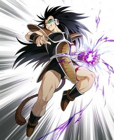 Raditz - Goku's older brother from the Dragon Ball Z anime series