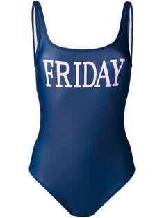 Shop Alberta Ferretti Friday swimsuit.
