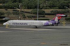 https://flic.kr/p/qooGcc | Hawaiian Airlines, Boeing 717 | PHNL (Honolulu International, Hawaii Dec. 28, 2014