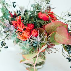"""How to Make the Perfect Winter Bouquet with Tips from Florist Emily Thompson"" via Madewell"