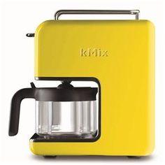 <3 <3 <3 Cafeteira Kenwood kMix, Faz até 6 xícaras de café por vez. Cor Amarela #pontofrio