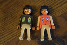 Vintage 1974 Playmobil Geobra Indians Native American Action Figure Plastic Toys #Playmobil