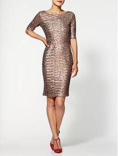 Pim + Larkin Sequin Midi Dress | Piperlime