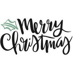 Silhouette Design Store - View Design #110161: merry christmas