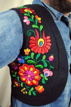 Vintage Embroidered Gypsy Vest (FOR GIRLS!!!)