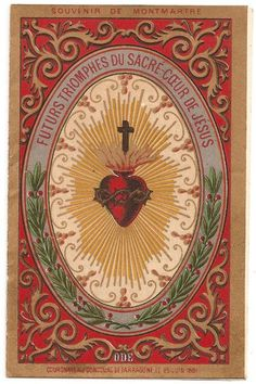 Religious Images, Religious Art, Compass Tattoo, Sacred Heart Tattoos, Jesus E Maria, Vintage Holy Cards, Christian Artwork, Jesus Art, Heart Of Jesus