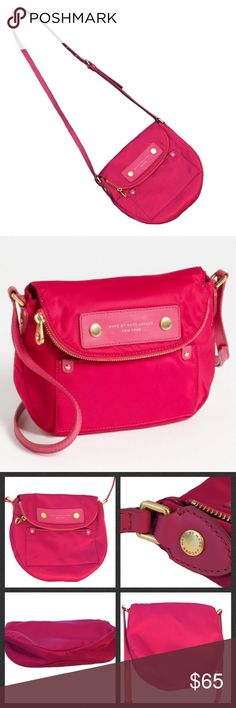 "Marc by Marc Jacobs ""Natasha"" Crossbody ❣FINAL LOWEST MARKDOWN❣Like new, % Authentic Marc by Marc Jacobs ""Natasha"" Crossbody bag. Bought about several years ago at Nordstrom. Like new, I've only worn it 2-3 times at the most. Completely clean inside & out, no odors, coming from smoke-free & pet-free home. Outer slip pocket. Inside zip pocket & two open pockets. Also has flap compartment. Super minuscule nic on one brass stud on the side barely noticeable, but shown in pic 3. Otherwise in…"