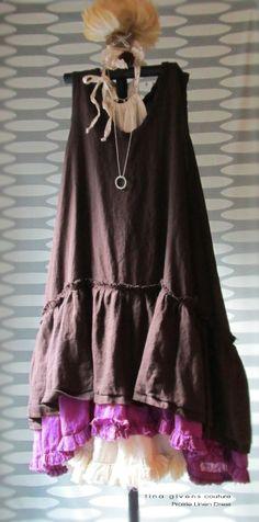 tina givens couture Prairie Linen