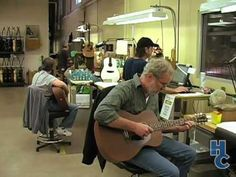 ▶ Martin Guitar Factory Tour Part 3 (of 6) - YouTube
