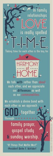 Holy Handouts: Young Women Lesson 10: Supporting Family Members