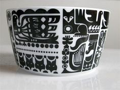 Marimekko bowl by run amok, via Flickr