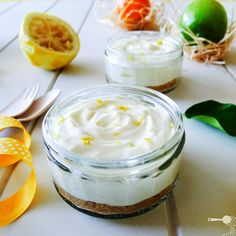 Zesty No-bake Lemon