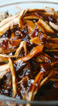 Slow Cooker Balsamic Honey Pulled Pork