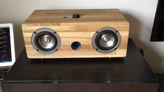 Tang Band DIY 2x100w Hi-end apt-x Bluetooth speaker! Bose competitor!