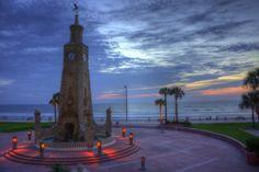 Ormond Beach Life: Beautiful Sunrise in Daytona Beach        www.CastlesbytheCoast.com