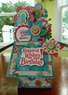 Birthday Garden in a Box by by ann - Cards and Paper Crafts at Splitcoaststampers