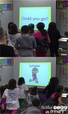 Students can read sight word phrases while getting in some exercise in this fun Fluency & Fitness brain break!
