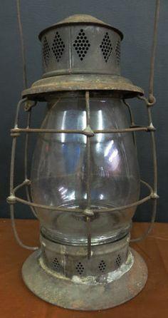 Unusual Pre Civil War VERY Primitive Whale Oil Bell-Base Lantern 1700's