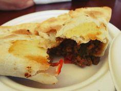 Argentine Beef Empanadas at Venga Empanadas. 443 Valencia Street, (415) 552-5895