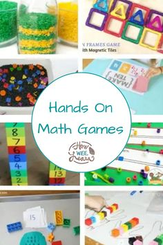 These math and number activities are a fun, easy way to get your little one learning about numbers! Practice counting, number recognition, one to one correspondence all with gross motor and fine motor games perfect for kids who like to learn while being on the move! Educational Activities For Preschoolers, Kindergarten Math Activities, Creative Activities For Kids, Kids Learning Activities, Math For Kids, Gross Motor, Fine Motor, Number Recognition, Math Concepts