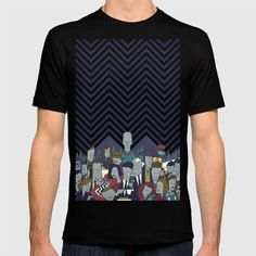 Twin Peaks T-shirt by Ale Giorgini | Society6