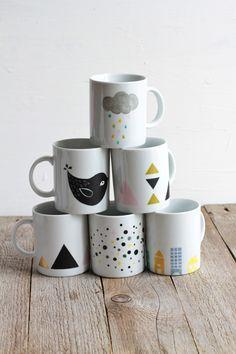 Nice coffee mugs