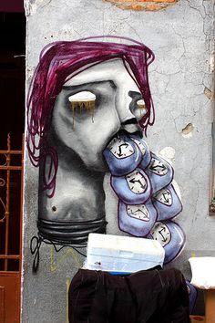 Street art   Mural (Brás, São Paulo, Brazil, 2010) by Magrela