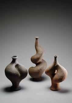 Barry Brickell maquettes Ceramic Pots, Ceramic Clay, Ceramic Pottery, Earthenware, Stoneware, Advanced Ceramics, Vases, Nz Art, Pottery Marks