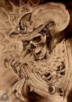 Ladies skull