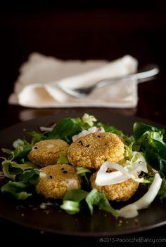 Sfiziosissime polpette: amaranto e curry per un pasto leggero e sano. Vegano. Provare per credere.